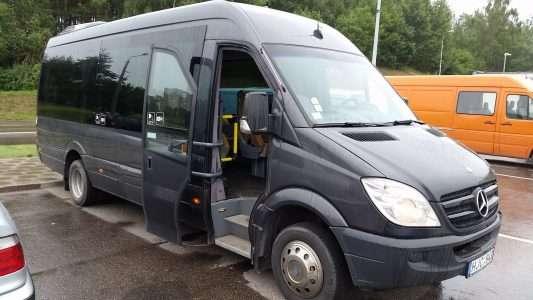 mercedes benz mikroautobusų nuoma