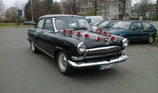 GAZ 21 Volga 1967m. 4 vietų automobilio nuoma Vilniuje vestuvėms