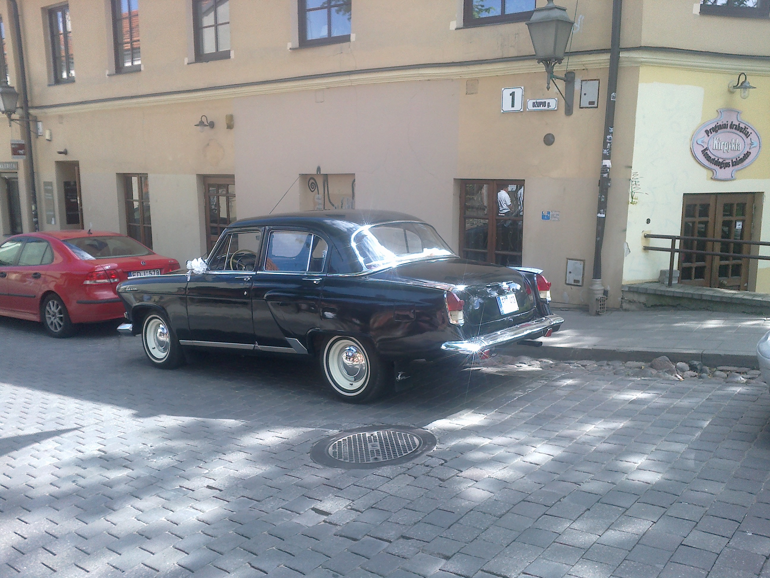 GAZ 21 Volga 1967m. 4 vietų automobilio nuoma Vilniuje