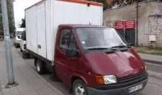 Ford Transit 1991m. 2 vietų krovininio automobilio nuoma Vilniuje