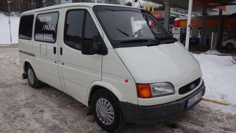 Ford Transit 1991m. 8 vietų mikroautobuso nuoma Vilniuje
