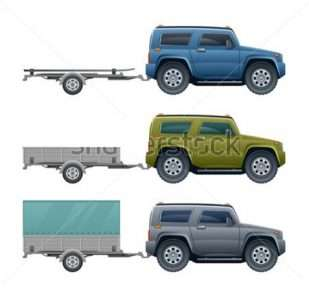 stock-vector-car-with-trailer-118951297