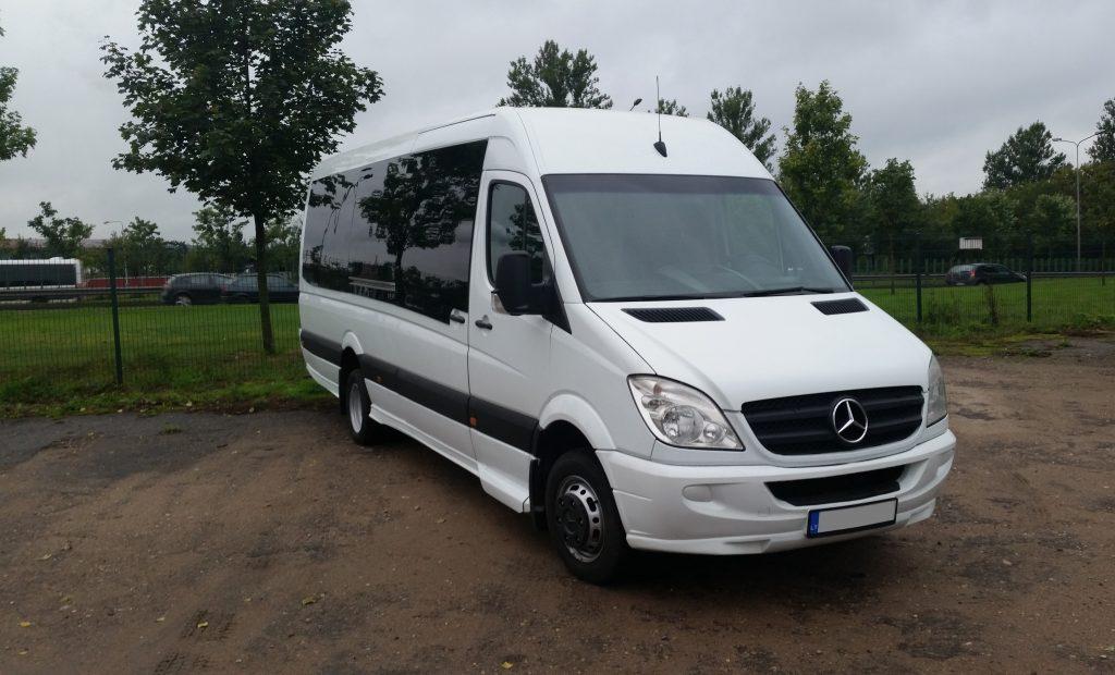 Mikroautobusų nuoma Vilniuje  atnaujinome transporto parką! Jau galite užsakyti Mercedes-Benz Sprinter 30 vietų!