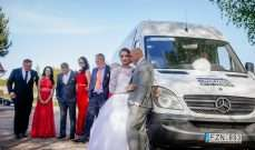 VAN RENTAL FOR WEDDING